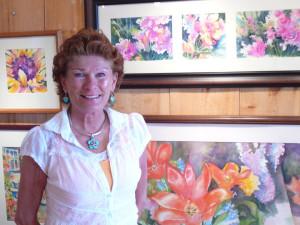 Artist Kathleen Berry Bergeron