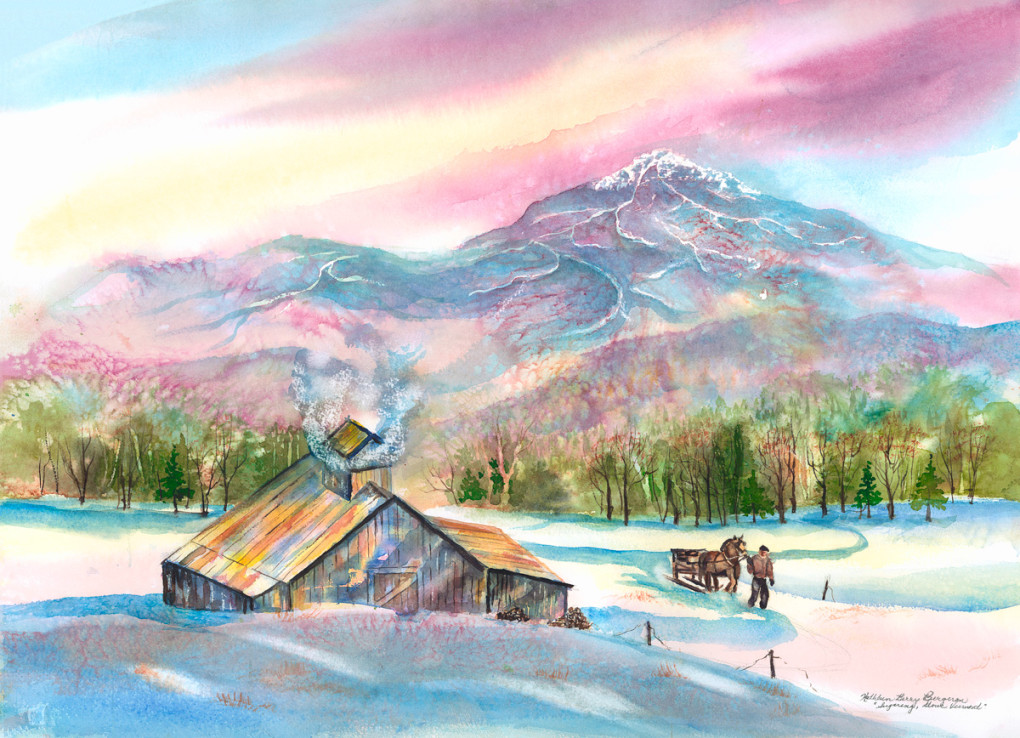 Sugaring-in-Stowe-by-Kathleen-Berry-Bergeron