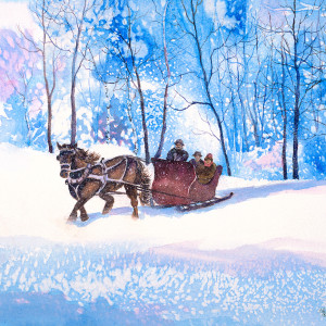 The-Sleigh-Ride-by-Kathleen-Berry-Bergeron