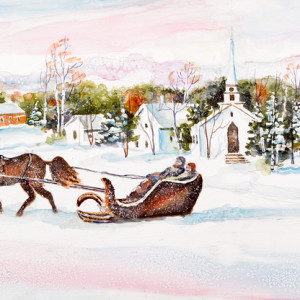 Winter-Ride-by-Kathleen-Berry-Bergeron