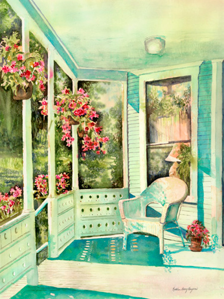 The-Porch-at-Sinclair-Towers-by-Kathleen-Berry-Bergeron