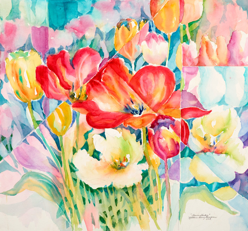 flower-garden-by-kathleen-berry-bergeron