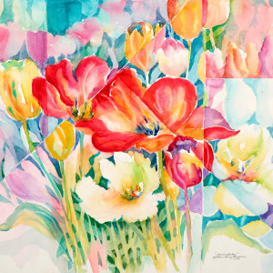 flower-garden-by-kathleen-berry-bergeron