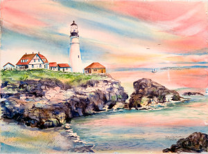 portland-head-lighthouse-by-kathleen-berry-bergeron