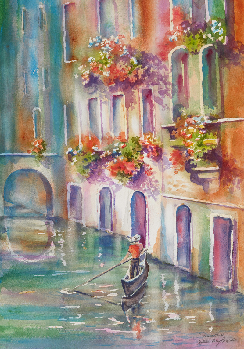 venice-canal-by-kathleen-berry-bergeron