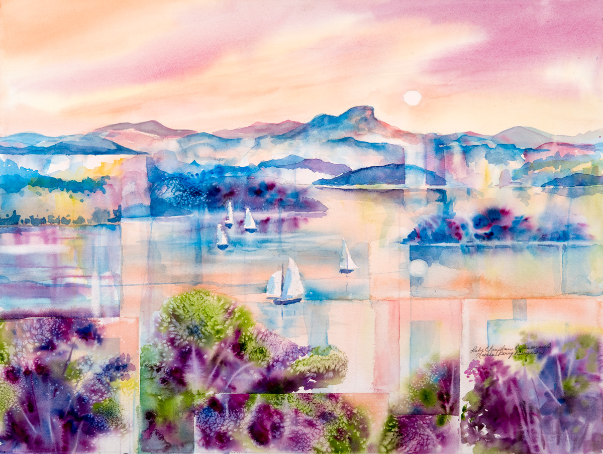 Lake Champlain Rediscovered by Kathleen Berry Bergeron