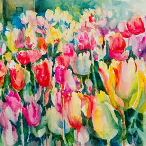 Singing Tulips by Kathleen Berry Bergeron