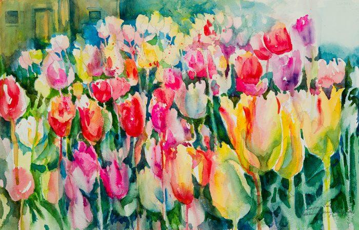 Singing Tulips by Kathleen Berry Bergeron