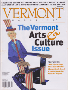 Vermont Magazine Featured Artist Kathleen Berry Bergeron