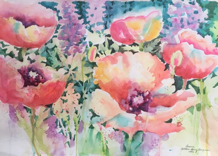 Poppies by Kathleen Berry Bergeron