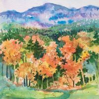 Stowe, Vermont by Kathleen Berry Bergeron
