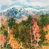 Vermont Autumn by Kathleen Berry Bergeron
