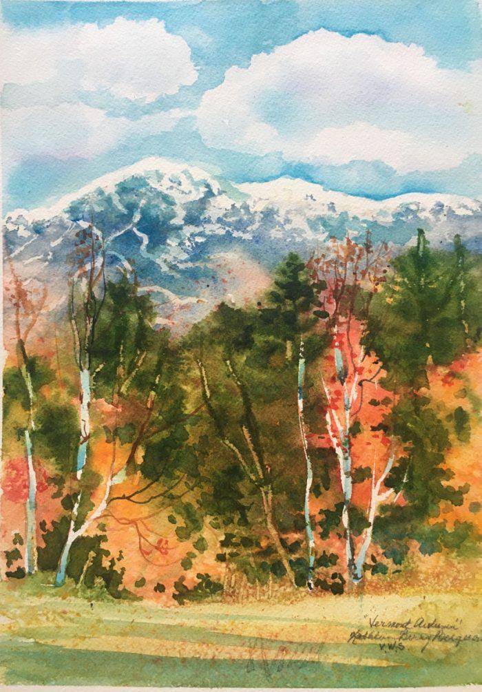 Vermont Autumn by Kathleen Berry Bergeron