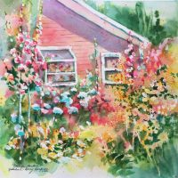 Cottage Garden by Kathleen Berry Bergeron
