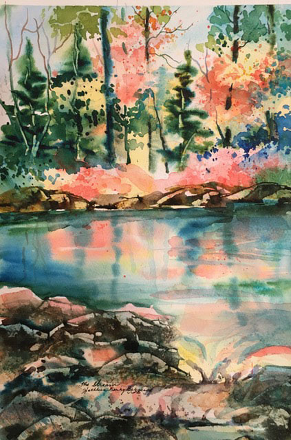 The Stream by Kathleen Berry Bergeron