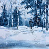 A Winter Walk by Kathleen Berry Bergeron